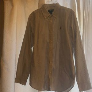 Youth size 18 polo button up